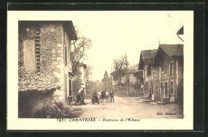 AK Chantesse, Strassenpartie im Dorf