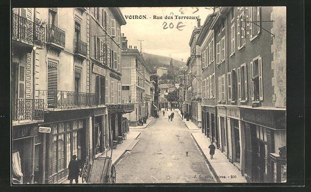 AK Voiron, Rue des Terreaux