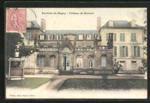 AK Nucourt, Le Chateau, Ansicht vom Schloss