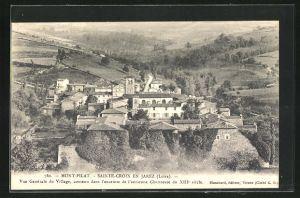 AK Mont-Pilat / Sainte-Croix en Jarez, Vue Generale du Village