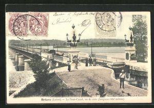 AK Briare, Le Pont-Canal, Kanalbrücke