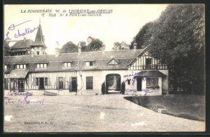 AK Horigny-sur-Oreuse, la Pommeraie, Gebäudeansicht