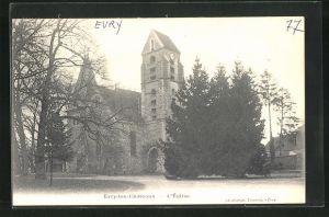 AK Evry-les-Chateaux, l`Eglise