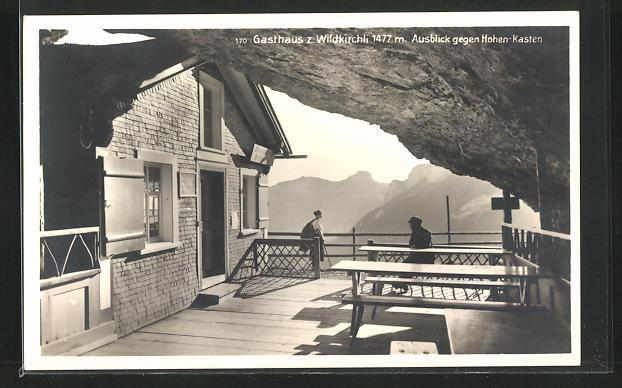 AK Schwende, Gasthaus zum Wildkirchli