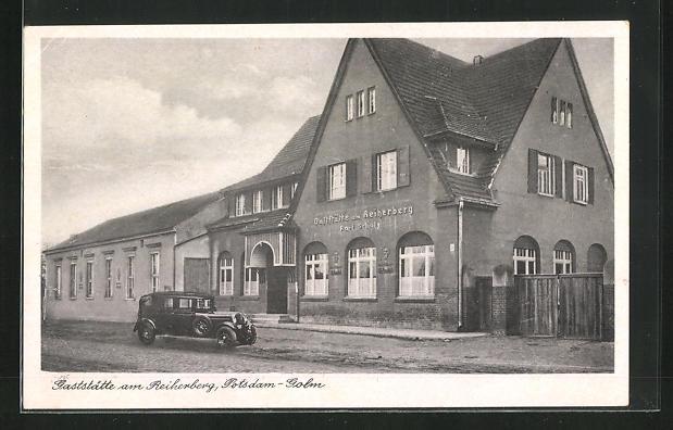 AK Potsdam-Golm, Gaststätte am Reiherberg
