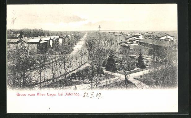 AK Jüterbog, Blick auf das alte Lager