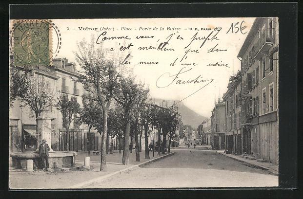 AK Voiron, Place, Porte de la Buisse