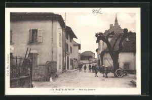 AK La Batie-Divisin, Rue du Centre