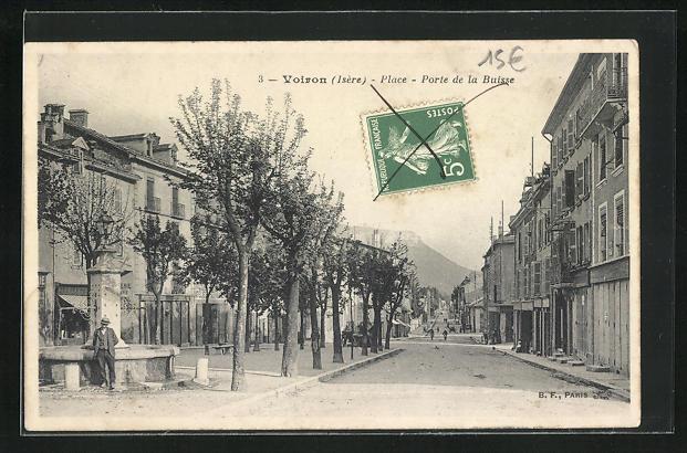 AK Voiron, Place-Porte de la Buisse