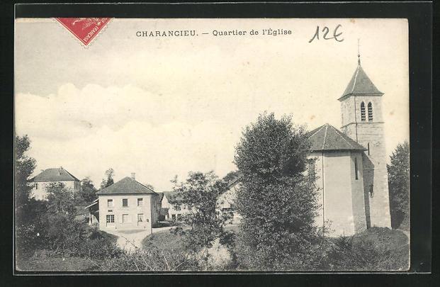 AK Charancieu, Quartier de l'Eglise