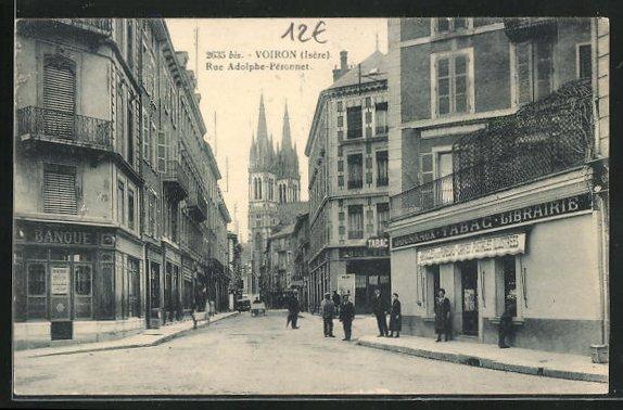 AK Voiron, Rue Adolphe-Peronnet