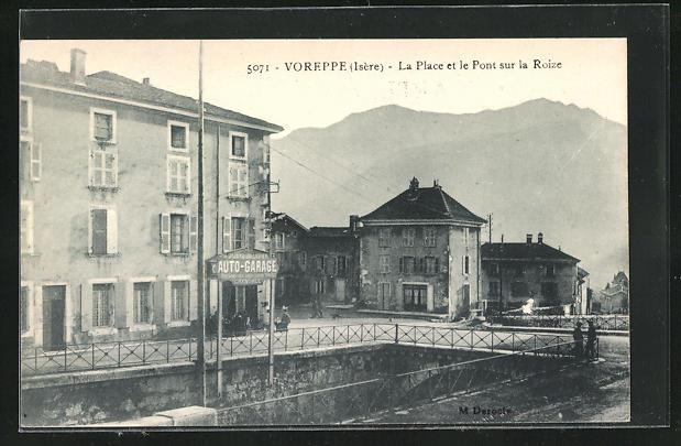 AK Voreppe, La Place et le Pont sur la Roize
