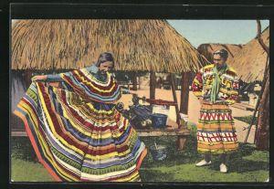 AK Florida, Indianerin vom Stamm der Seminolen