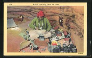 AK Silberschmied vom Stamm der Navajo