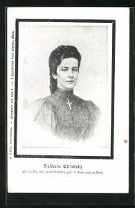 AK Portrait der Kaiserin Elisabeth (Sissi) von Österreich