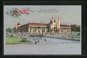 AK St. Louis, World`s Fair 1904, Palace of Mines and Metallurgy