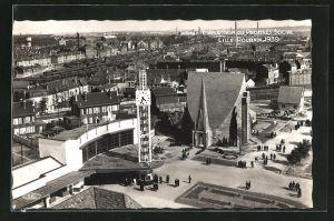AK Lille-Roubaix, Exposition du Progres Social 1939, Blick auf das Messegelände