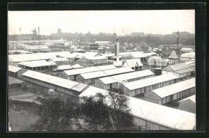 AK Hamburg, 30. Wanderausstellung der Deutschen Landwirtschafts-Gesellschaft 1924, Totalansicht