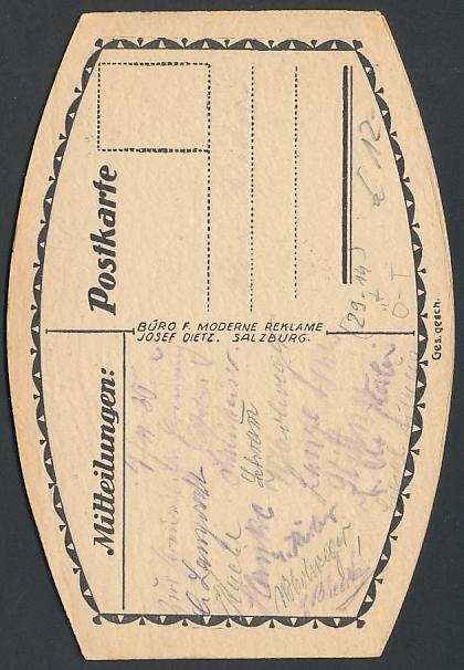 AK Thiersee, Postgasthof von A. Rupprechter 1