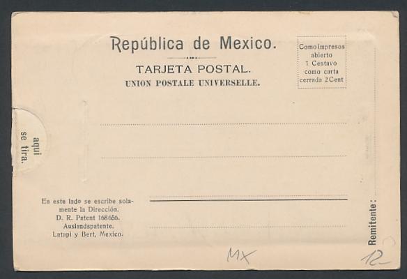 Leporello-AK Veracruz, Administration de Correos, Muelle Fiscal, Palacio municipal 1