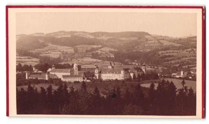Fotografie A. Helm, Wien, Ansicht Vorau / Steiermark, Stift Vorau Gesamtansicht