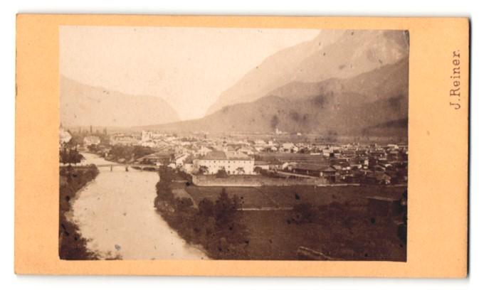 Fotografie J. Reiner, Klagenfurt, Ansicht Lienz, Gesamtansicht der Stadt