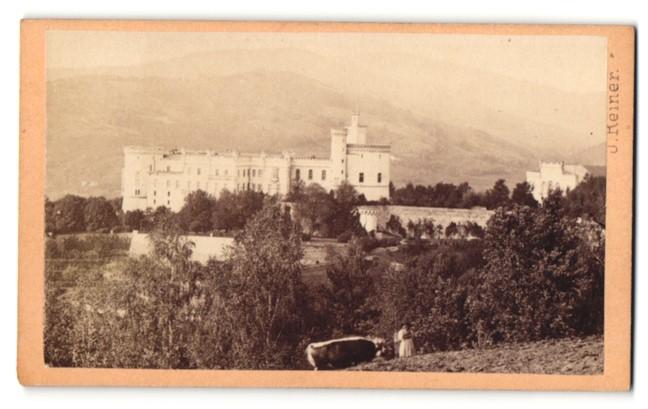 Fotografie J. Reiner, Klagenfurt, Ansicht Wolfsberg / Kärnten, Schloss Wolfsberg