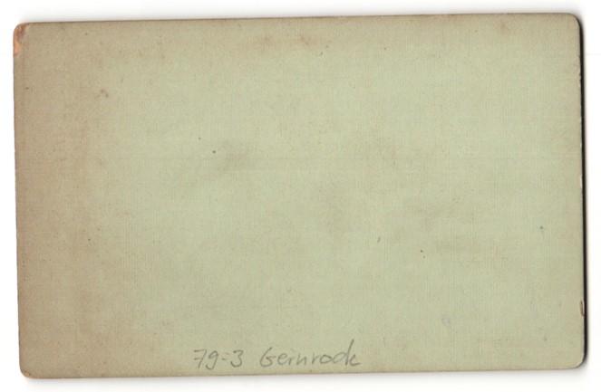 Fotografie E. Rose, Wernigerode, Ansicht Gernrode, Ortsansicht mit Kathedrale 1