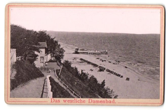 Fotografie Fotograf unbekannt, Ansicht Heringsdorf, das westliche Damenbad 0