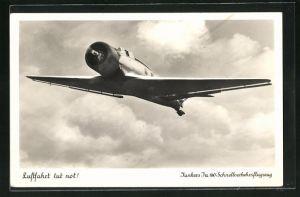 AK Junkers Ju 160 Schnellverkehrsflugzeug