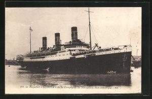 AK Passagierschiff Lutetia, Compagnie de Navigation Sud-Atlantique