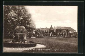 AK Sommerfeld / Lubsko, Schlos Dolzig, Geburtsstätte der Kaiserin Auguste Victoria