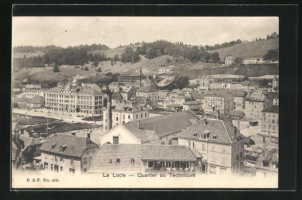 AK Le Locle, Quartier du Technicum