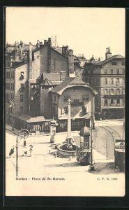 AK Geneve, Place de St.-Gervais