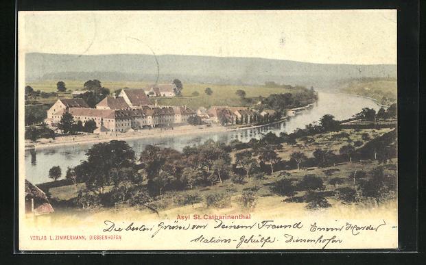 AK Diessenhofen, St. Catharinenthal, Christliches Asyl