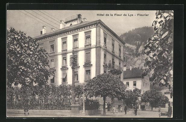 AK Fleurier, Hotel de la Fleur de Lys