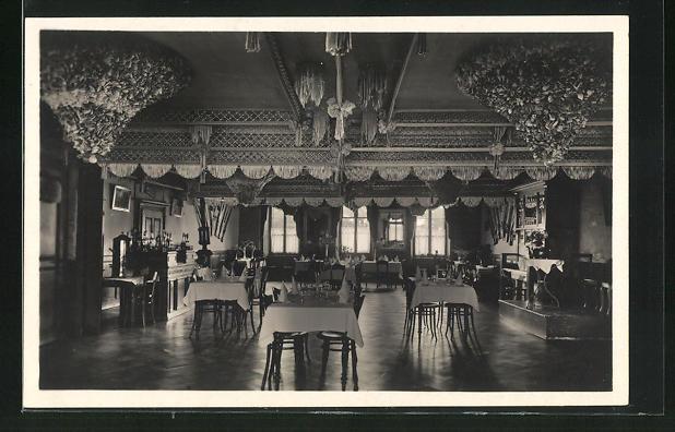AK Marin, Hotel du Poisson, Innenansicht