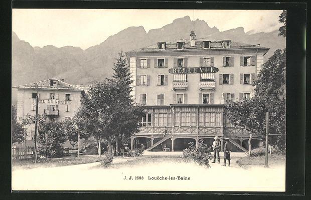 AK Loueche-les-Bains, Hotel Bellevue