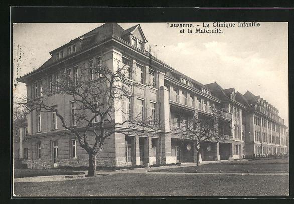 AK Lausanne, La Clinique Infantile et la Maternite