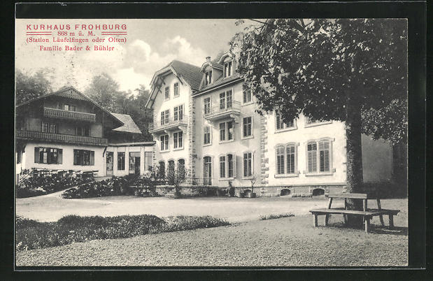 AK Läufelfingen, Kurhaus Frohburg