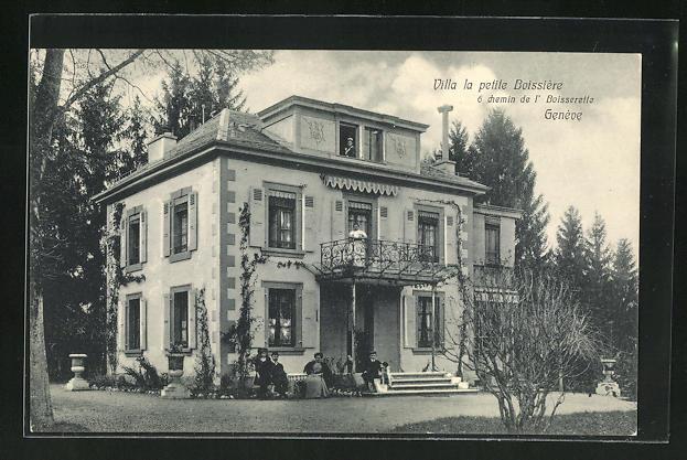 AK Genève, Villa la petite Boissière, 6 chemin de l` Boisserette