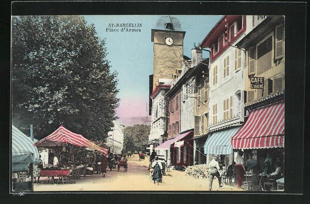 AK St-Marcellin, Place d`Armes 0