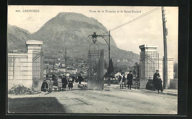 AK Grenoble, Porte de la Tronche et le Saint-Eynard 0