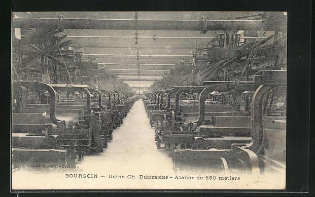 AK Bourgoin, Usine Ch. Diederichs, Atelier de 680 metiers 0
