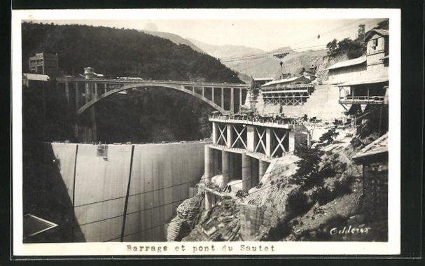 AK Corps, Barrage et pont du Sautet 0