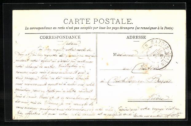 AK Les Cotes-d'Arey, Chateau de Mr. De Leusse 1