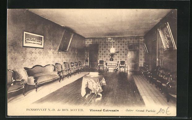 AK Vienne-Estressin, Pensionnat N.-D. de Bon Accueil, Grand Parloir 0