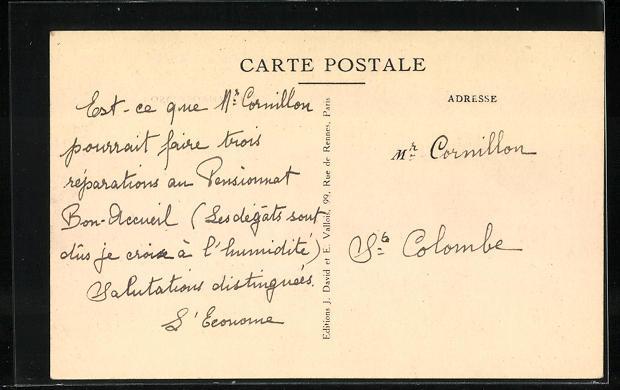 AK Vienne-Estressin, Pensionnat N.-D. de Bon Accueil, Grand Parloir 1