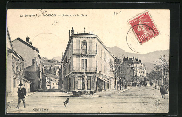 AK Voiron, Avenue de la Gare 0