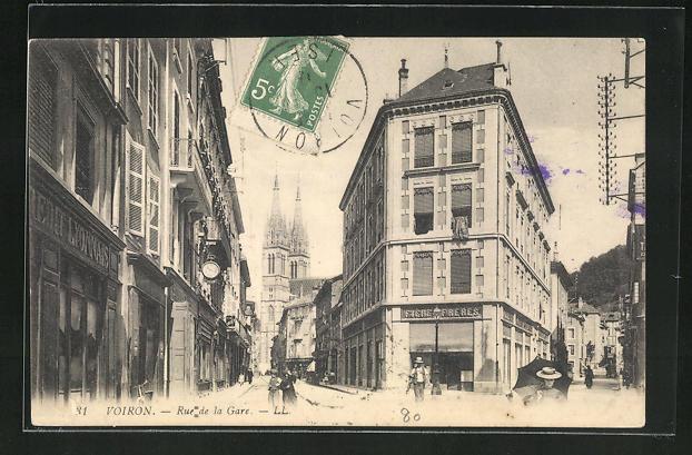 AK Voiron, Rue de la Gare 0